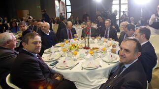 Alfonso Rodríguez, Emilio Medina, David Navarro, Justiniano Cortés, José Luis Blanco, José Joly, Juan Luis Belizón, Alfonso Pozuelo, Mario Blanco y Antonio Ramírez.