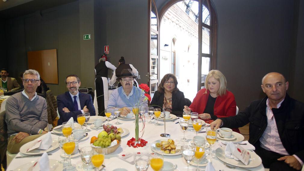Félix García, David Suárez, José María Rico, Doris Lisbett, Ana Prieto Cabello y Pedro Muñoz Brenes.