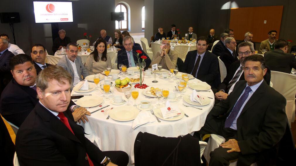 Alberto Doña, Diego Chaves, Isidro Orihuela, Alfonso Corona, Raquel Haro, Javier Rodríguez, Agustín Aragón, Ildefonso Velázquez, Juan Luis Gómez y Miguel Villanueva.