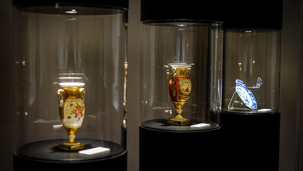 Exposición de cerámica en el Museo Provincial