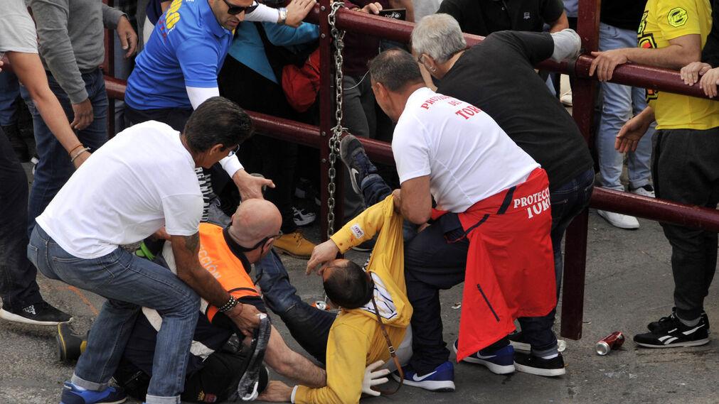 El herido grave fue evacuado pero no sobrevivió