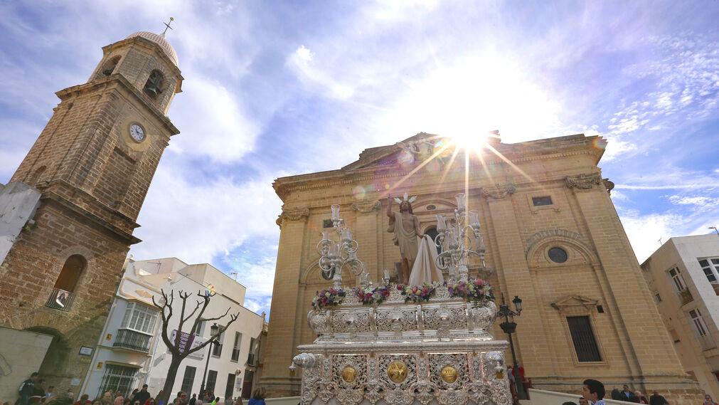 Las imágenes del Resucitado en Chiclana