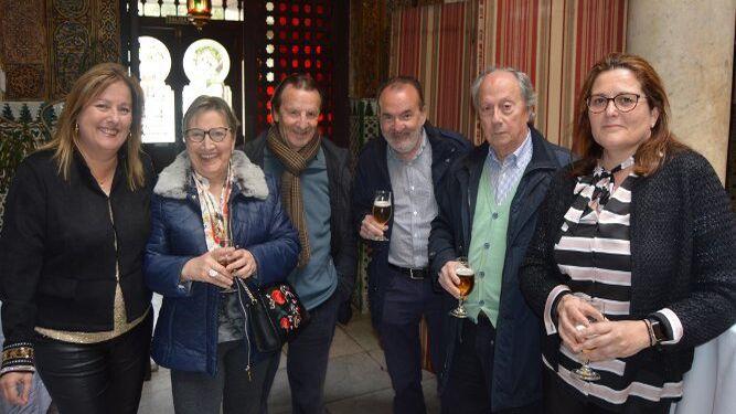 Inma Martínez, Paqui Cea, Manolo Vazquez, Teodoro Roquette y Juan José Romero.