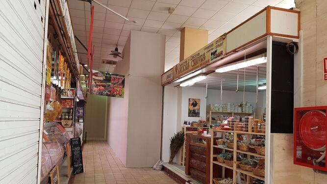 Los paneles también se han instalado parte de los laterales del mercado.