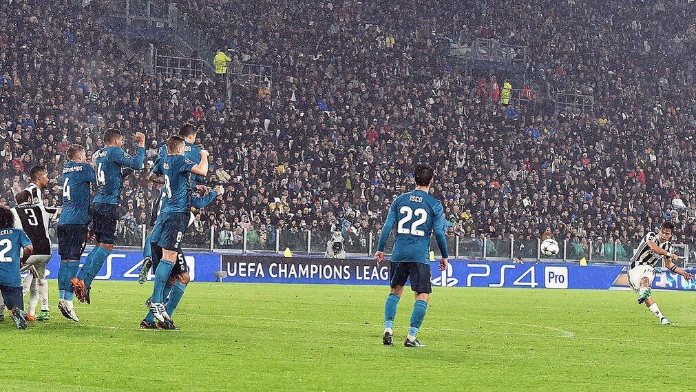 Las imágenes del Juventus-Real Madrid
