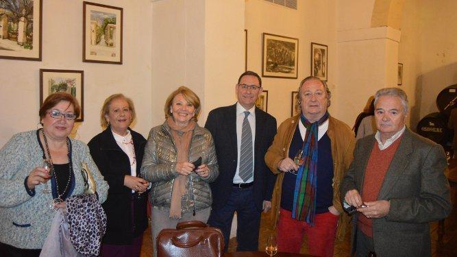 Lola Trenado, Carmen Sánchez, Inés Polo, José Antonio Gijón-Alonso, Juan de Dios Frías y José Manuel Calero.
