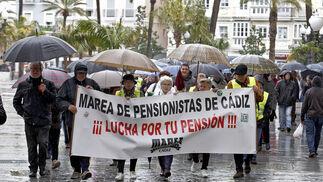 Los pensionistas toman la calle