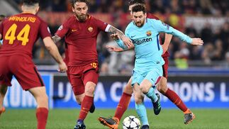 El Roma-Barcelona, en imágenes