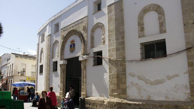 Una vista del exterior del Mercado de la Concepción, que va a ser objeto de una amplia reforma una vez que se redacte el proyecto.