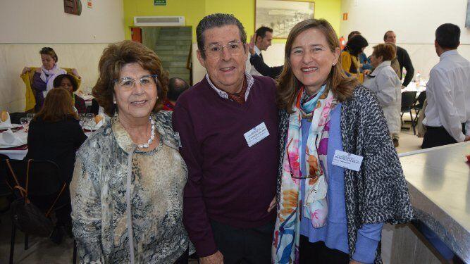 Merche Hormaeche, Ernesto Pérez Díaz-Alersi y Miriam Ruiz.