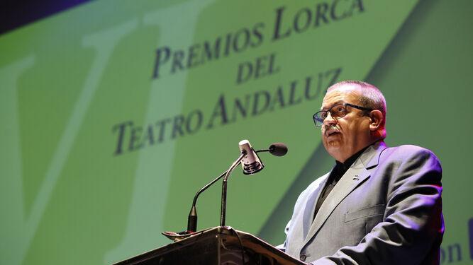 El gaditano Mariano Sánchez Pantoja, durante su intervención.