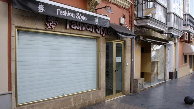 Esta tienda de complementos también ha cerrado sus puertas recientemente.