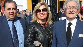 Jesús Nogués, Sara Rodríguez y Alfonso Rodríguez (Alfonso Catering)