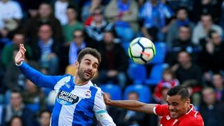 Las imágenes del Deportivo-Sevilla