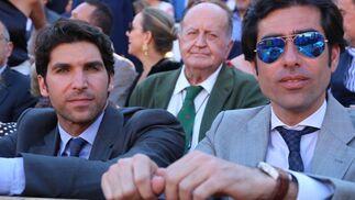 Cayetano Rivera Ordóñez con Antonio Acevedo