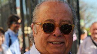 El actor cómico y gran aficionado taurino Paco Arévalo