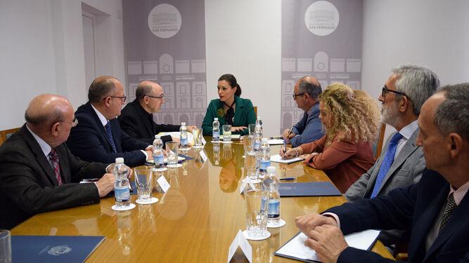 Reunión de la comisión del Corpus.