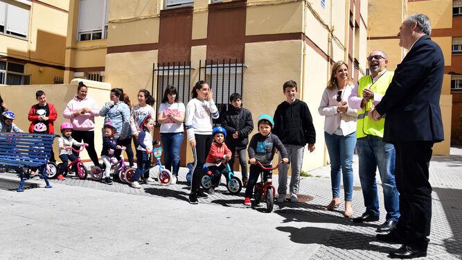 Un momento de la actividad que se ha desarrollado en el colegio San Ignacio.