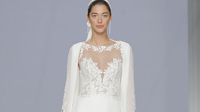 Rosa Clará presenta sus propuestas esta tarde en la 'Barcelona Bridal Week'