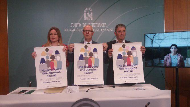 Momento de la presentación de la campaña.