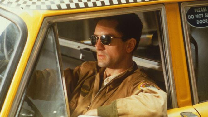 De Niro, como el alienado Travis Bickle en 'Taxi Driver'.