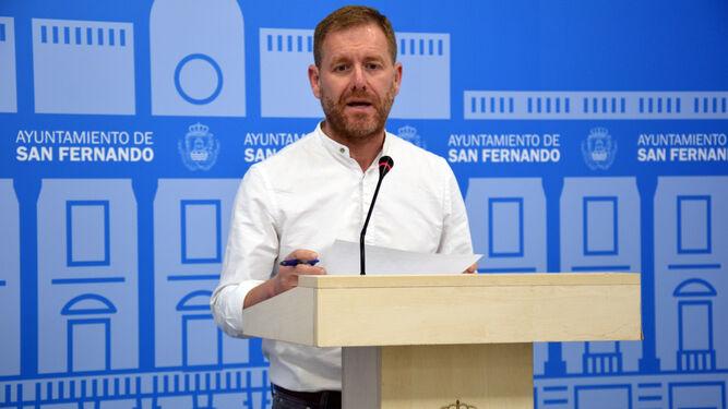 El concejal de Desarrollo Económico y Gestión Presupuestaria, Conrado Rodríguez.