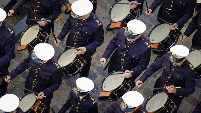 La banda del Rosario estará en el vía crucis, acompañando a Columna.