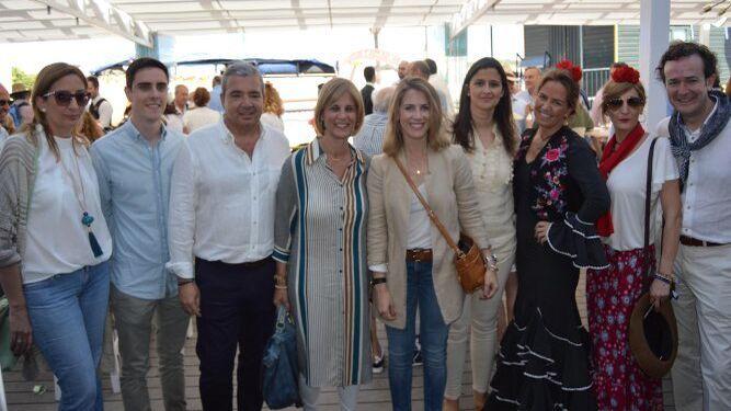Carmen Jerez, Jaime Espinar, Juan Marmolejo, María José García Pelayo, Ana Mestre, Anamaría Vielba, Sol Cruz-Guzmán, Carmen Pérez y Nacho Díez.