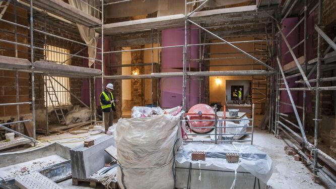 Obras en el Ayuntamiento, la que sin duda es la principal inversión del mandato.