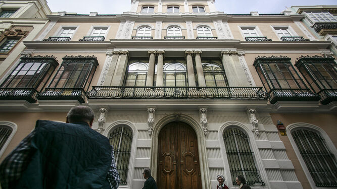 C diz 39 palatia 39 se adentra en las m s de 60 casas palacio de c diz - La casa del pirata cadiz ...