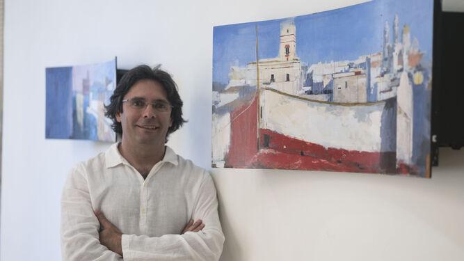 Cecilio Chaves se asoma a unas azoteas más abstractas ...