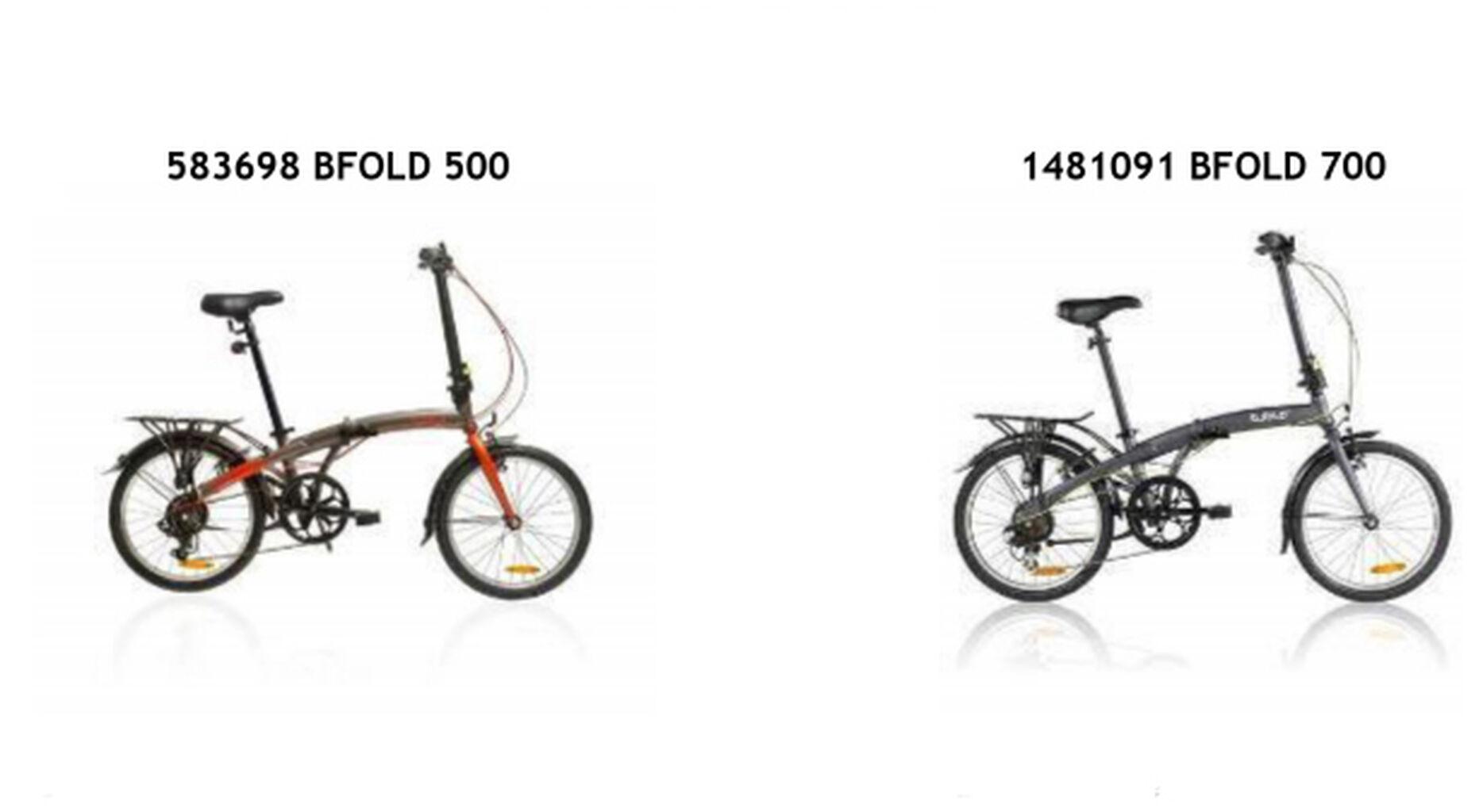 Bicicletas Decathlon retira dos modelos por riesgo de rotura del cuadro
