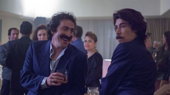 El actor isleño, en uno de sus grandes papeles Martín Bello, con el sello  de La Isla