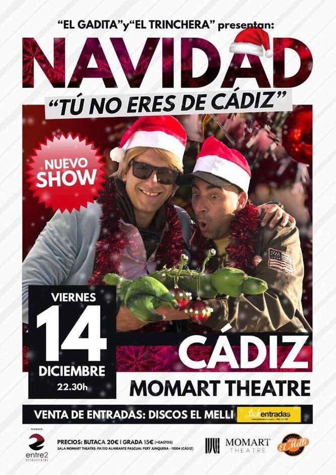 Espectáculo navideño de Morera y Mení Una Navidad de Cadi, Cadi