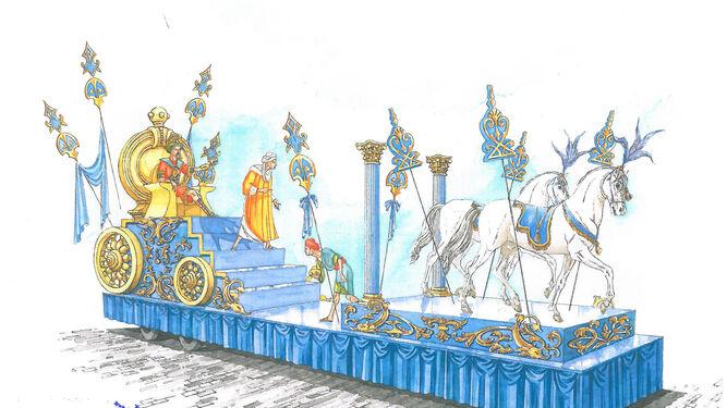 Carrozas De Reyes Magos Fotos.Asi Sera La Cabalgata De Reyes Magos En Cadiz