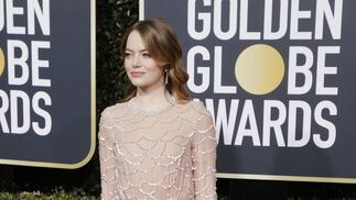<p>Emma Stone, de Louis Vuitton.</p>