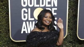 <p>Octavia Spencer, de Christian Siriano.</p>