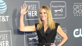 <p>Julia Roberts, de Louis Vuitton.</p>