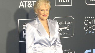 <p>Glenn Close, de Gabriela Hearst.</p>