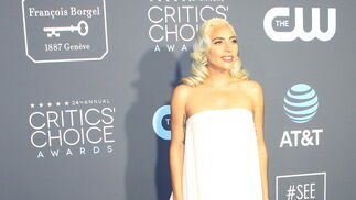 <p>Lady Gaga, de Calvin Klein by Appointment.</p>