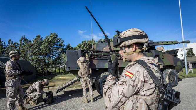 Imagen del ejercicio FTX-FIM 18, el más importante de Infantería de Marina