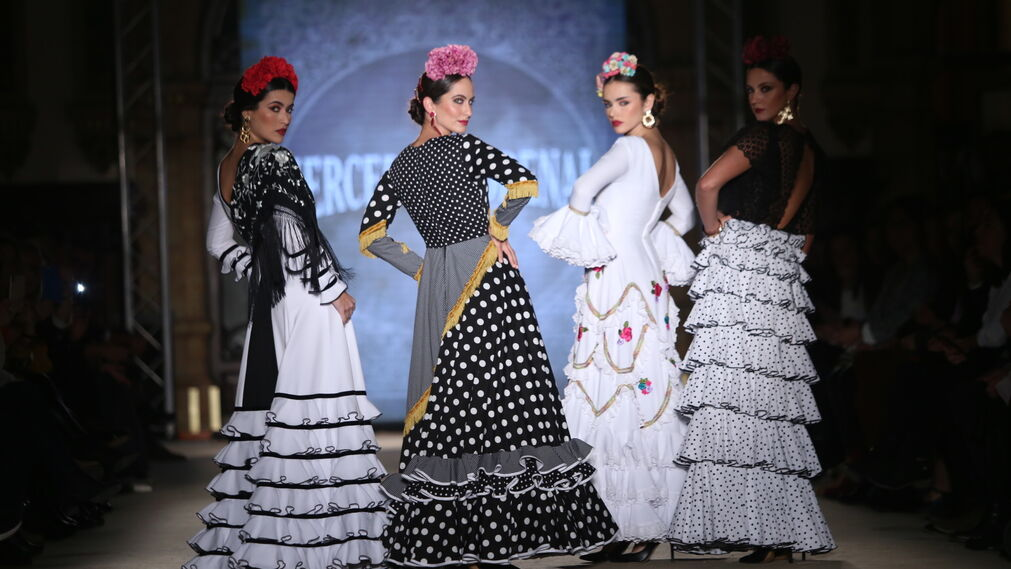 Mercedes Dobenal, fotos del desfile en We Love Flamenco 2019