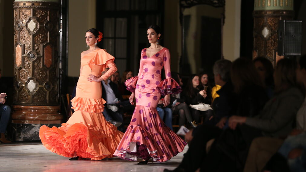 Lucía Herreros, fotos del desfile en Viva by We Love Flamenco 2019