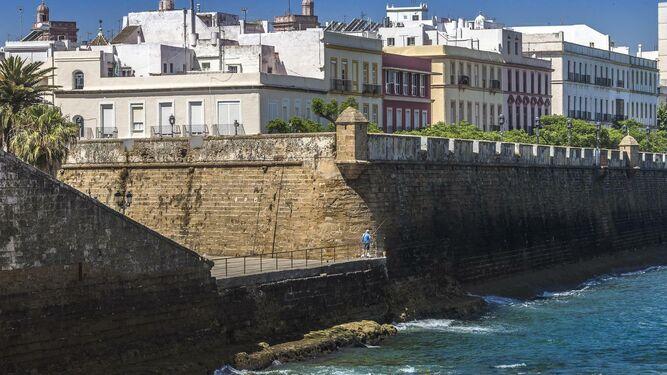 Imagen de las murallas de la ciudad.