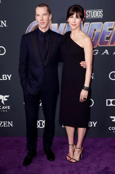 <p>Benedict Cumberbatch y Sophie Hunter</p>