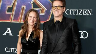 <p>Susan Downey y Robert Downey Jr.</p>