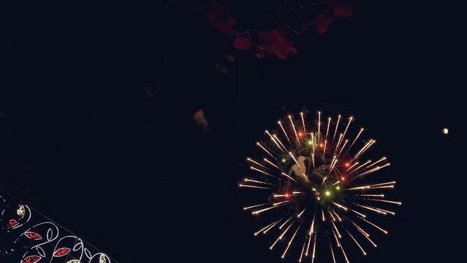 Fuegos artificiales de la Feria de Puerto Real