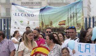 Imágenes de la llegada del 'Juan Sebastián de Elcano' a Cádiz.