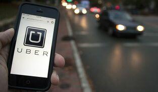 Una imagen de la aplicación de Uber