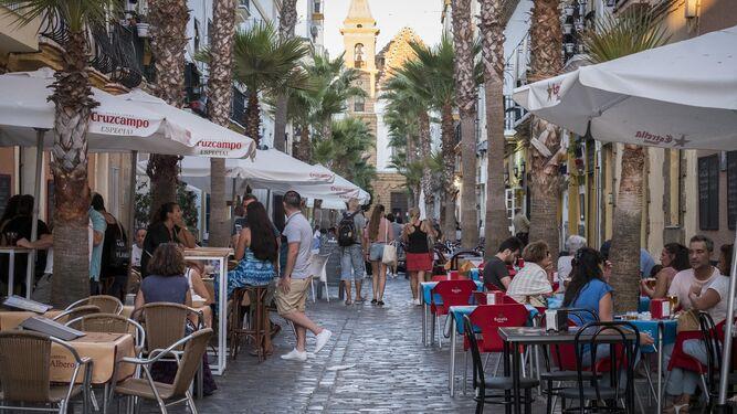 Bares Y Restaurantes Cádiz Antonio De María Las Terrazas